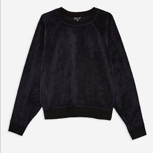 TOPSHOP || Furry Sweatshirt